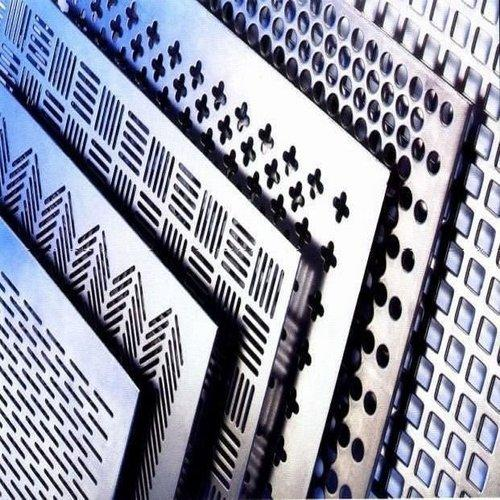 CNC Punching Perforated Sheets