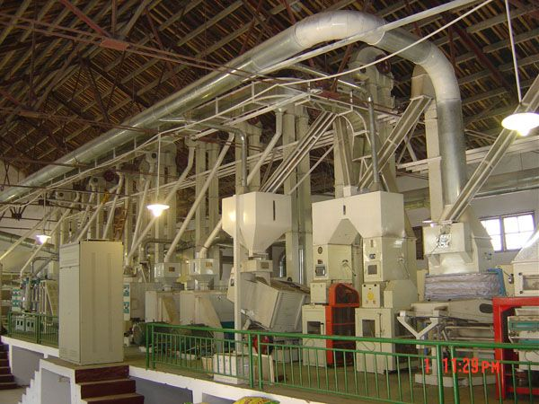 Rice Mill Parboiling unit