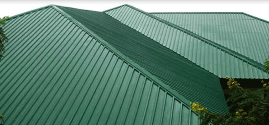 Corrugated Sheets for Bunk House
